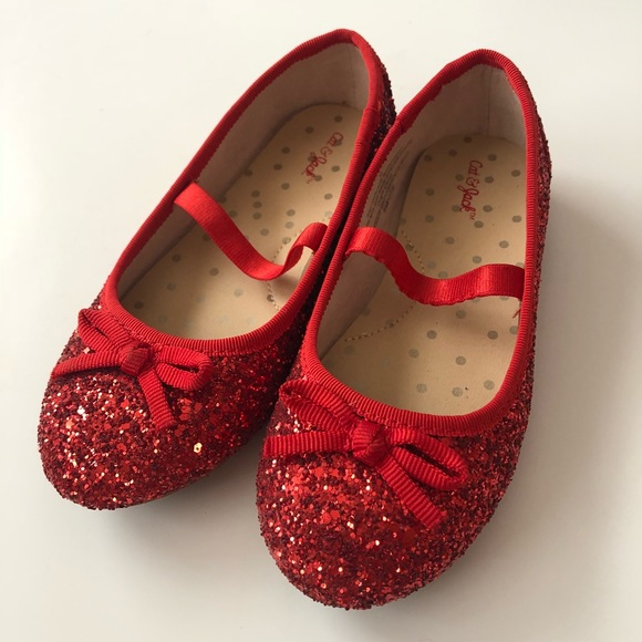 9927af098 Cat & Jack Shoes | Dorothy Wizard Of Oz Ruby Red Slippers Costume ...